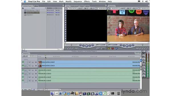 LA Eyeworks project: Learning Final Cut Pro 4