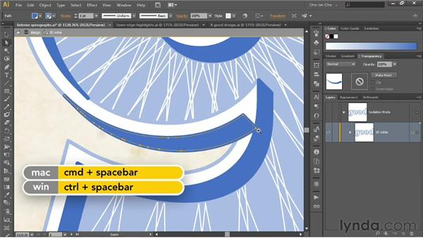 Working in an isolation mode: Illustrator CS6 One-on-One: Intermediate