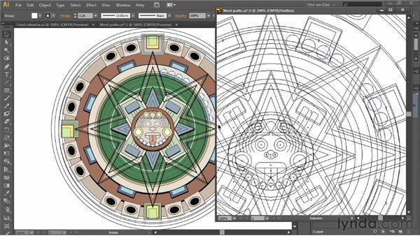 Multiple views and power duplication: Illustrator CS6 One-on-One: Intermediate
