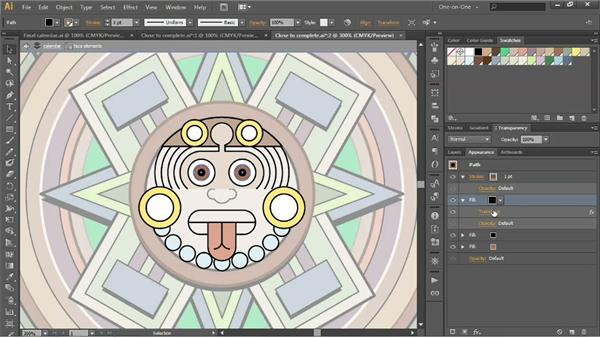 Combining multiple fills: Illustrator CS6 One-on-One: Intermediate
