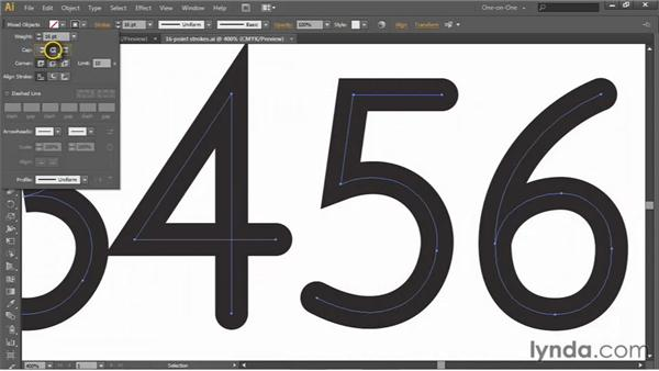 The rich world of strokes: Illustrator CS6 One-on-One: Intermediate