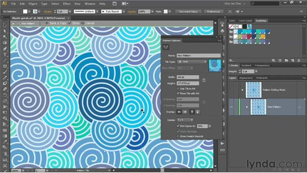 Using the new Pattern Generator: Illustrator CS6 One-on-One: Intermediate