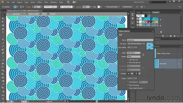 The new tile types: Brick and Hex: Illustrator CS6 One-on-One: Intermediate