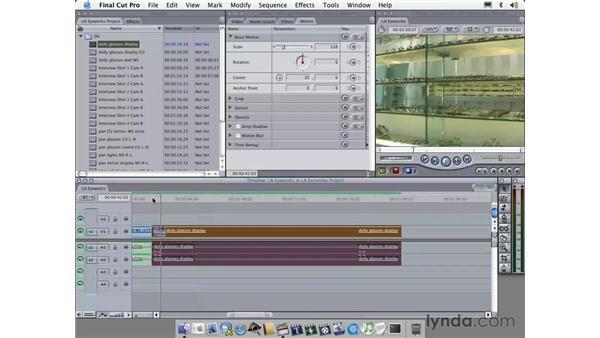 montage 1: Learning Final Cut Pro 4
