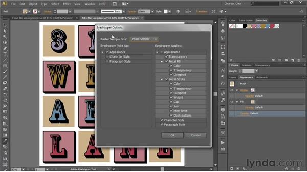 Adding an extruded edge effect: Illustrator CS6 One-on-One: Intermediate