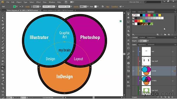 Introducing Live Paint: Illustrator CS6 One-on-One: Intermediate