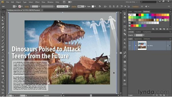 Scaling and cropping inside a bounding box: Illustrator CS6 One-on-One: Intermediate