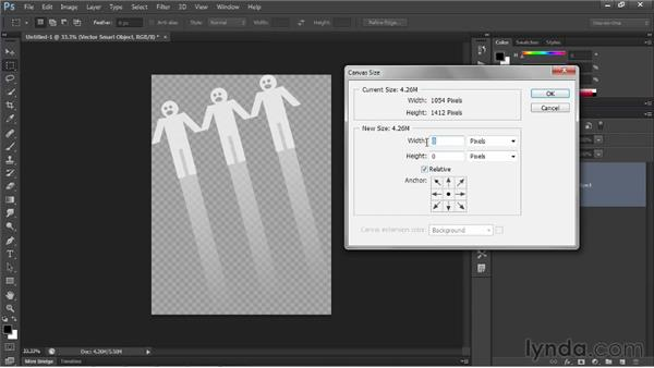 Placing a Photoshop image, with transparency: Illustrator CS6 One-on-One: Intermediate