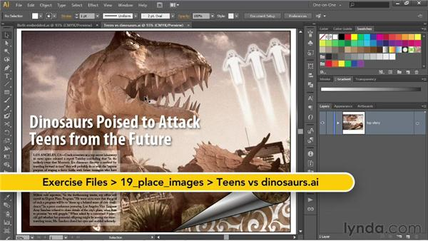 Unembed and Package (Creative Cloud only): Illustrator CS6 One-on-One: Intermediate