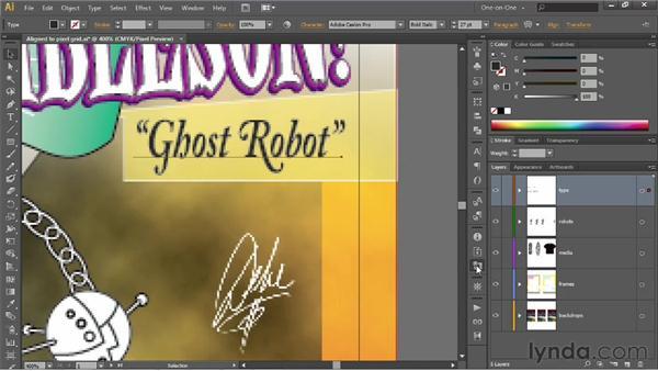 Optimizing editable text for the web: Illustrator CS6 One-on-One: Intermediate