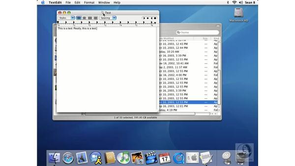 saving files: Learning Mac OS X 10.3 Panther