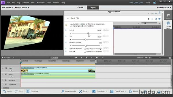 : Up and Running with Premiere Elements 11