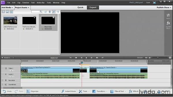 """Adding a """"special features"""" video to your DVD or Blu-ray: Up and Running with Premiere Elements 11"""