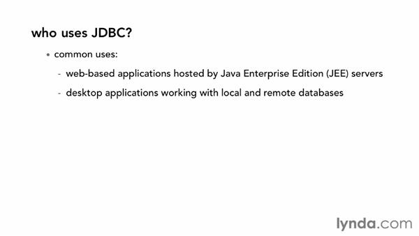 What is JDBC?