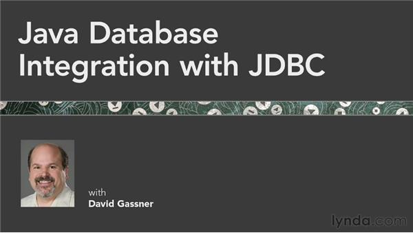 Next steps: Java Database Integration with JDBC