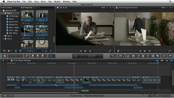 Simplifying your timeline: Narrative Scene Editing with Final Cut Pro X v10.0.9