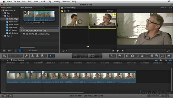 Cutting multicam: Narrative Scene Editing with Final Cut Pro X v10.0.9