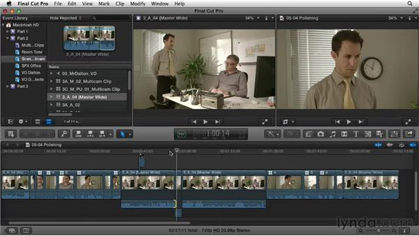 Polishing: Narrative Scene Editing with Final Cut Pro X v10.0.9