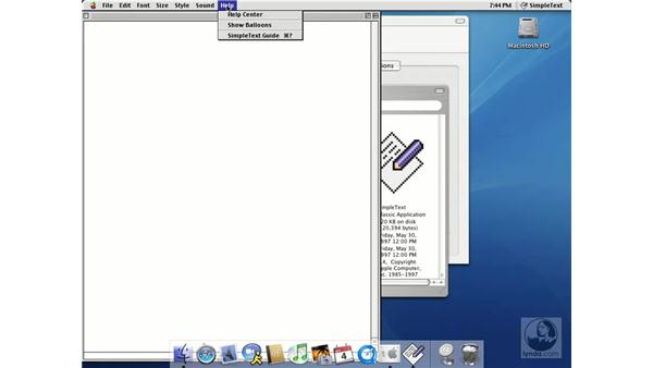 classic and startup disk: Learning Mac OS X 10.3 Panther