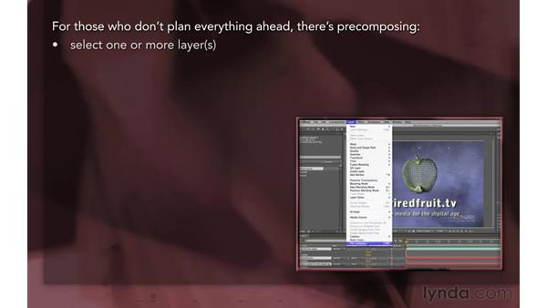 Overview: After Effects Apprentice 08: Nesting and Precomposing
