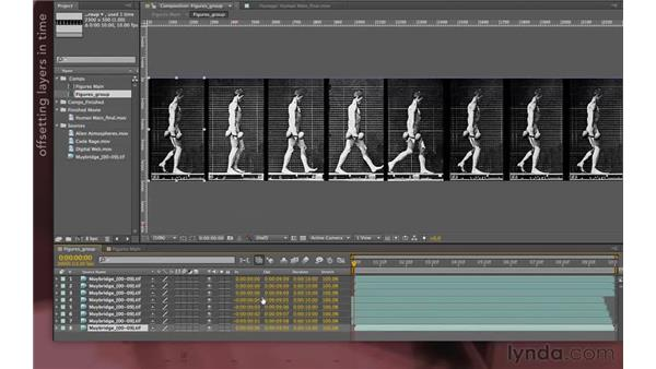 Editing the precomp: After Effects Apprentice 08: Nesting and Precomposing