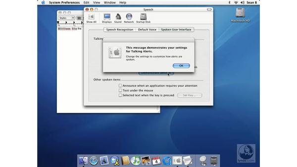 speech: Learning Mac OS X 10.3 Panther