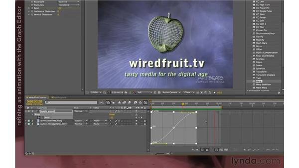 Precomps and effects: After Effects Apprentice 08: Nesting and Precomposing