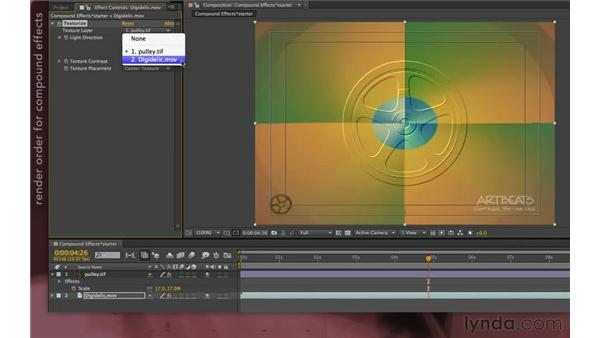 Working with compound effects: After Effects Apprentice 08: Nesting and Precomposing