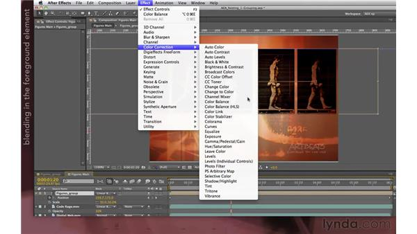 Finishing the Muybridge promo: After Effects Apprentice 08: Nesting and Precomposing