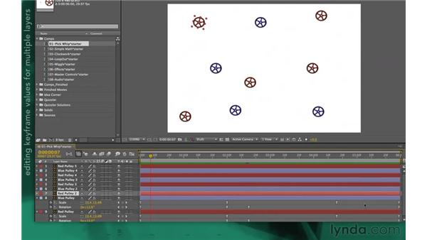 Keyframes and client changes: After Effects Apprentice 09: Expressions