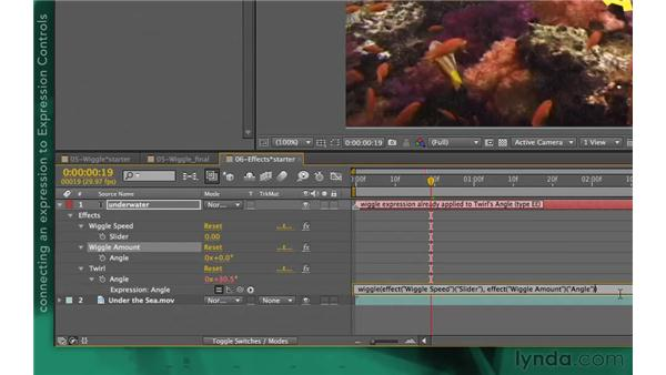 Expression controls: After Effects Apprentice 09: Expressions