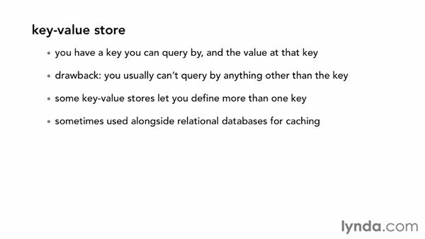 Defining NoSQL database types: Up and Running with NoSQL Databases
