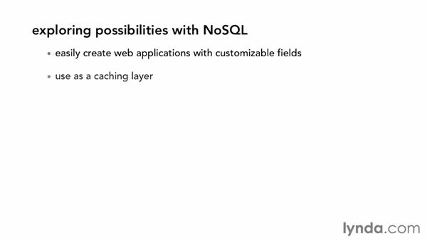 Exploring NoSQL possibilities: Up and Running with NoSQL Databases