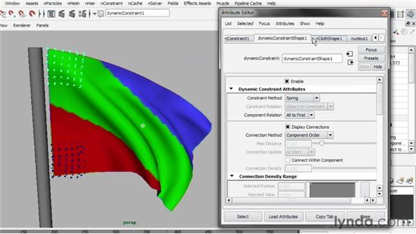 Understanding the Nucleus solver: Understanding Maya nCloth