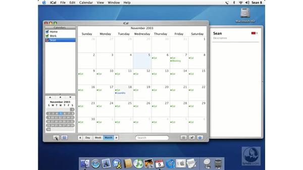 iCal: Learning Mac OS X 10.3 Panther