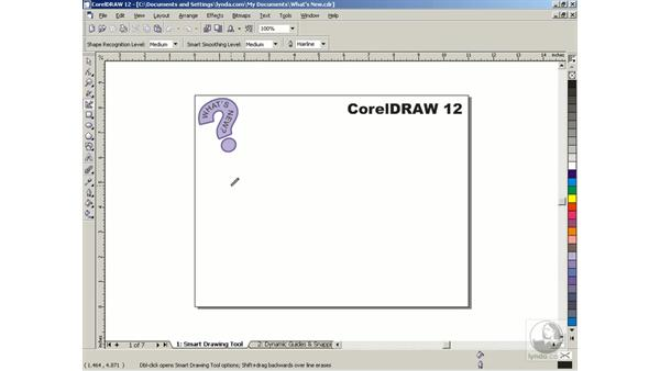 smart drawing: Getting Started with CorelDRAW Graphics Suite 12