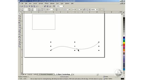 object terminology: Getting Started with CorelDRAW Graphics Suite 12