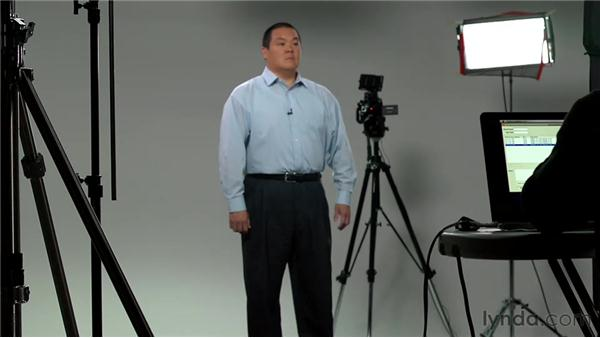Practicing comfortable posture and stance: On Camera: Develop Your Video Presence