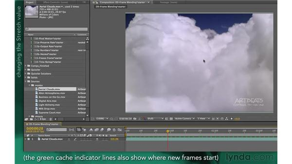 Frame Mix mode: After Effects Apprentice 10: Time Games