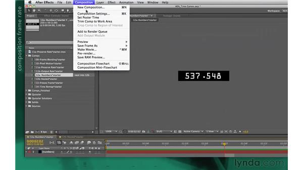 Calming overactive effects: After Effects Apprentice 10: Time Games