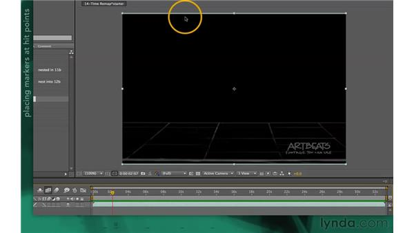 Spotting hit points in time: After Effects Apprentice 10: Time Games