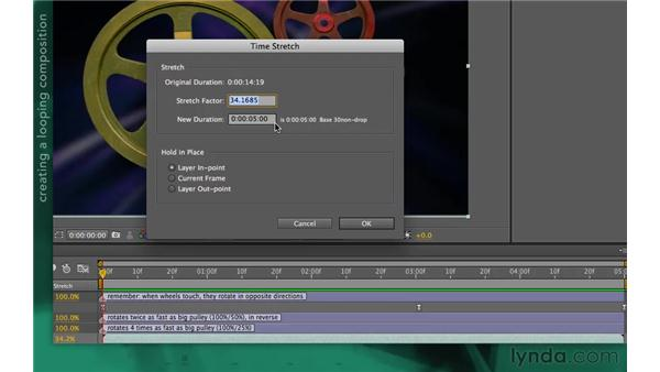 Quizzler challenge: Looping a composition: After Effects Apprentice 10: Time Games