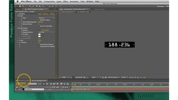 Idea corner two: Multiple playback speeds: After Effects Apprentice 10: Time Games