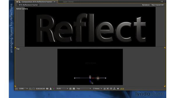 Reflections in CS6: After Effects Apprentice 11: 3D Space