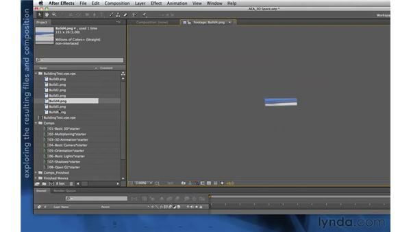 Vanishing Point Exchange in After Effects: After Effects Apprentice 11: 3D Space