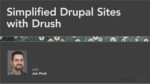 Goodbye: Simplified Drupal Sites with Drush