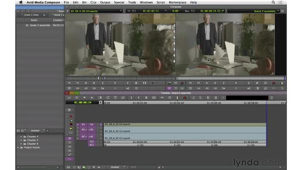 Laying the first shots to form a visual energy: Narrative Scene Editing with Avid Media Composer