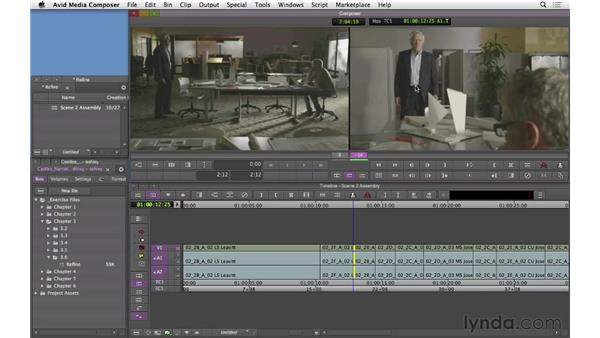 Refining the dialogue scene: Narrative Scene Editing with Avid Media Composer
