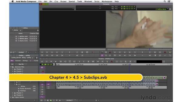Refining the montage scene: Narrative Scene Editing with Avid Media Composer
