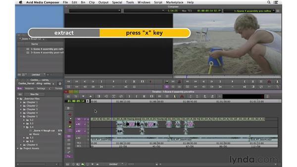 Refining the flashback scene: Narrative Scene Editing with Avid Media Composer